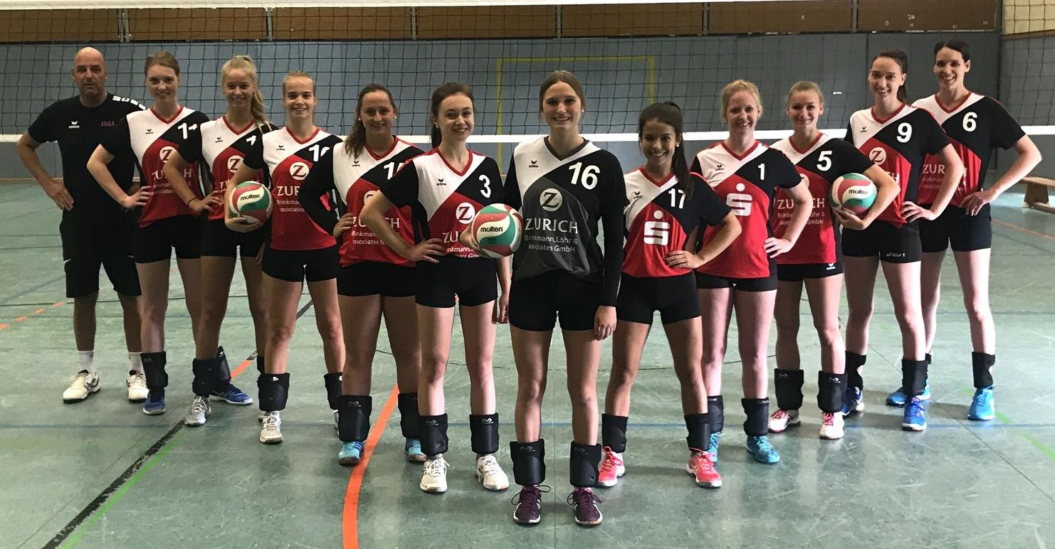 Damen 1 Volleyball Sportarten Tv Jahn Rheine 1885 Ev